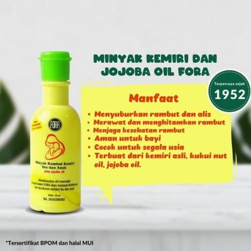 Jual Minyak Rambut Kemiri Ibu Dan Anak Fora 65ml Plus Jojoba Oil Kab Tangerang San Food Tokopedia