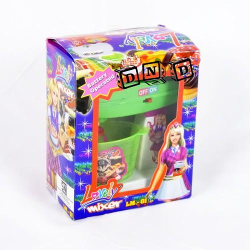 Foto Produk Mainan Anak Lovely Mixer Alat Pengocok Adonan Kue Masak Masakan LM01 dari Danzel Corner