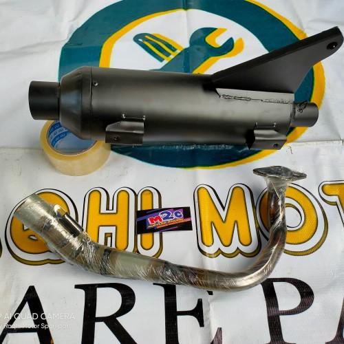 Foto Produk KNALPOT RACING BOBOKAN SUZUKI SPIN 125 / SPIN - TSUGI MODEL GLAVANIS dari raqhi motor