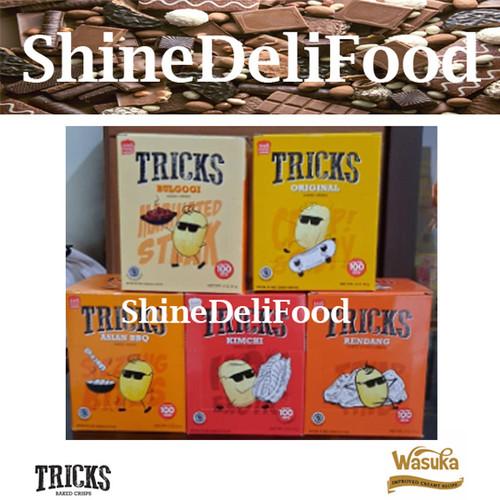 Foto Produk Paket Komplit lengkap 5 rasa- Tricks Snack - Lengkap dan Lezat Banget - Basic dari ShineDeliFood