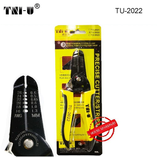 Foto Produk TNI-U TU-2022 Cutter Tool Clamp & Steel Wire Cable Cutter Plier Tool dari HOUSE SPAREPART