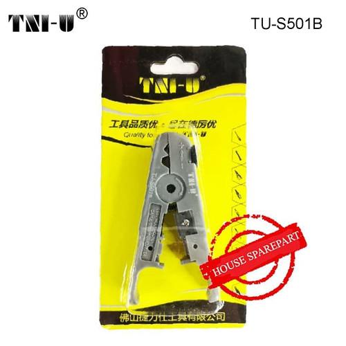 Foto Produk TNI-U TU-S501B Multifunctional Wire Stripper Cutter Network Cable dari HOUSE SPAREPART