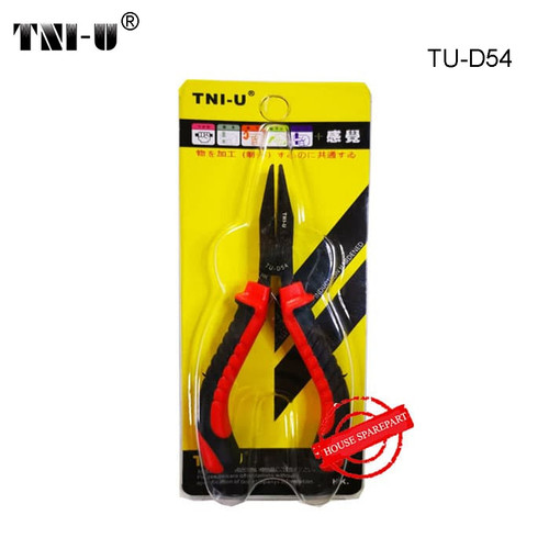 Foto Produk TNI-U TU-D54 Flat Nose Plier Cutter Cutting Copper Cable Wire dari HOUSE SPAREPART