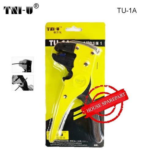 Foto Produk TNI-U TU-1A Carbon Steel Wire Stripper Duck Mouth Wire Cutter dari HOUSE SPAREPART