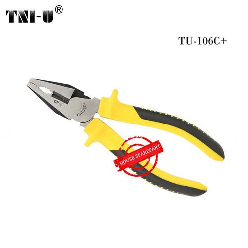 Foto Produk TNI-U TU-106C+ 6 Inch Multifunctional Wire Cable Cutter Nippers Pliers dari HOUSE SPAREPART