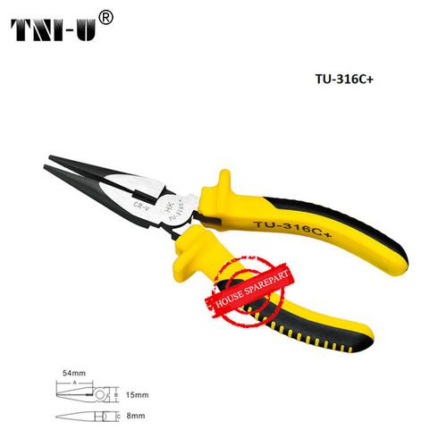 Foto Produk TNI-U TU-316C+ 6 Inch Sharp Nose Pliers Cutter Cable Wire Repair dari HOUSE SPAREPART