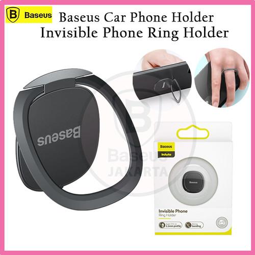 Foto Produk BASEUS INVISIBLE RING PHONE BRACKET FINGER HOLDER METAL STAND MOUNT dari BASEUS JAKARTA
