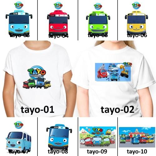 Foto Produk [ FREE NAMA ] Baju Kaos custom TAYO ANAK DAN DEWASA couple - 0 dari Toko Happy Factory