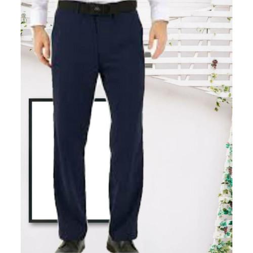 Foto Produk celana formal pria regular fit navy - Navy blue, 33 dari tokosaudara