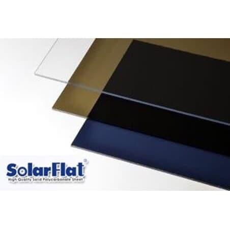 Foto Produk SOLARFLAT,SolarTuff Solid, atap kanopi polycarbonat murah 1,2 mm polos dari BERKAT ATAP