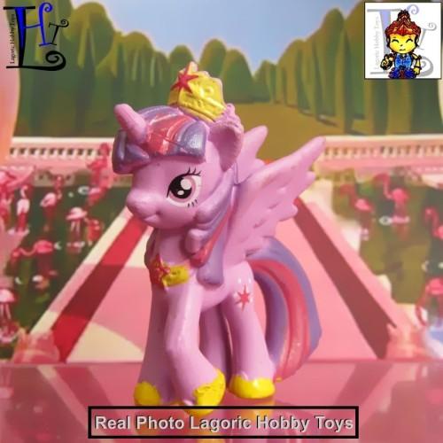 Foto Produk My Little Pony MiniFig Seri 8 Twilight Sparkle (Mainan Figure) dari Lagoric Hobby Toys