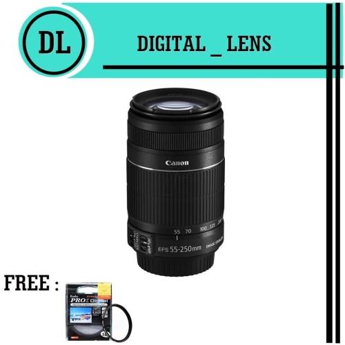 Foto Produk LENSA CANON 55 - 250 IS II dari Toko digital lens