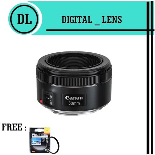 Foto Produk LENSA CANON 50MM F/1.8 STM dari Toko digital lens