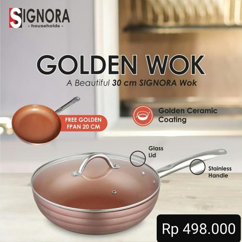 Foto Produk Golden Wok Signora dari Mina Kitchen Tools