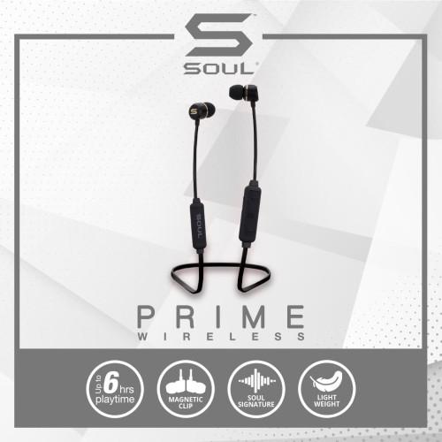 Foto Produk SOUL Prime Wireless High Performance Earphones with Bluetooth - Hijau dari Soul official