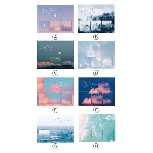 Foto Produk Sky and Sea Series Sticky Notes Set / Catatan Tempel / Notes - Varian B dari Pinkabulous
