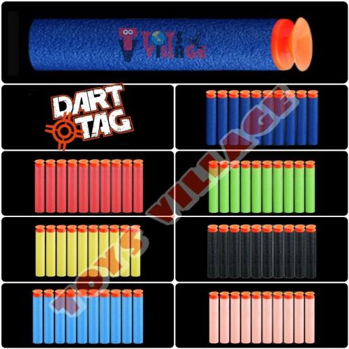 Foto Produk 1pcs Peluru Nerf Dart Suction -Menempel kaca- Modulus N Zombie Strike - Biru dari toys village