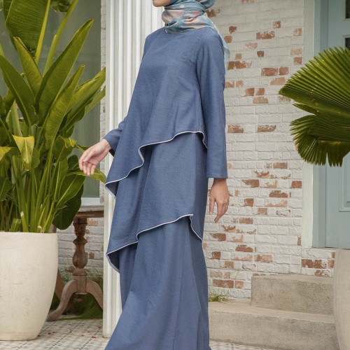 Foto Produk Ticha Navy - S dari HijabChic Official