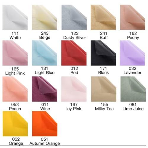 Foto Produk Kertas Bungkus Sepatu / Baju / Doorslag - Wrapping Paper (LEMBARAN) dari Wood chip store