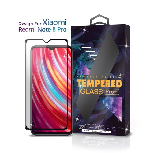 Foto Produk Tempered Glass Xiaomi Redmi Note 8 Pro Full Cover Black - Glass Pro dari Glass Pro Indonesia
