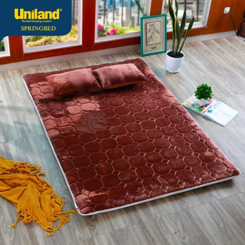 Foto Produk Uniland Sherinna Surpet 140 x 200 Coklat Kasur Karpet - Busa / Lipat dari Uniland Springbed