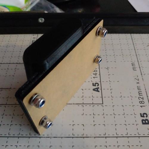 Foto Produk Plat untuk frontbock brompton bracket adaptor sepeda V2 dari DawaGarage