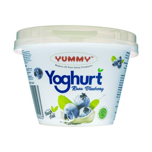 Foto Produk Yummy Fruit Yoghurt Blueberry 12 x 80g dari YUMMY Dairy