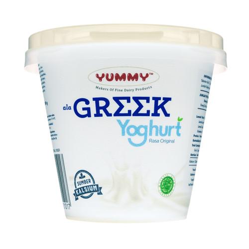 Foto Produk Yummy Greek Yoghurt Original 12 x 100g dari YUMMY Dairy