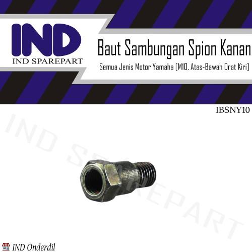 Foto Produk MC Baut Sambungan-Peninggi Spion Kanan Ulir-Drat Kiri-M10 Motor Yamaha dari Maca Hot