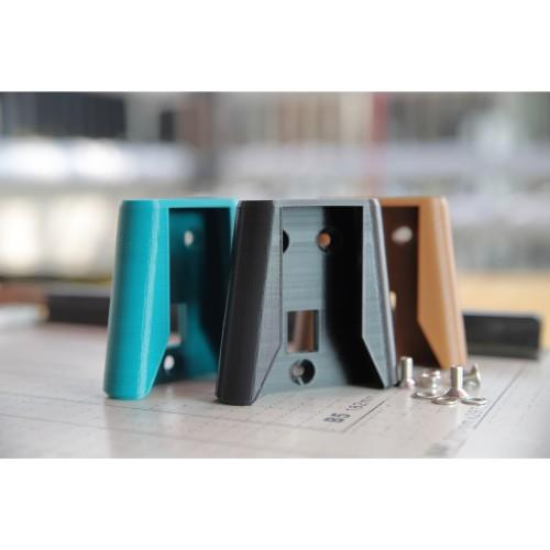 Foto Produk Brompton Front Block Bracket Tas Carier Adaptor Minimalis Dengan Baut dari DawaGarage