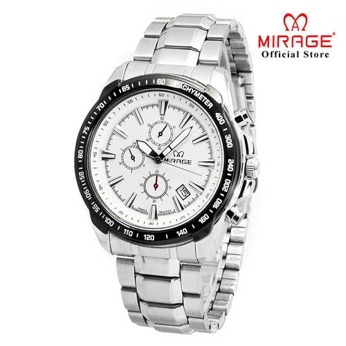 Foto Produk Promo Jam Tangan Pria Mirage Stainless steel 8305M pP Silver dari Mirage Watch