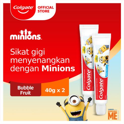 Foto Produk Colgate Toothpaste Kids Minions 40g ENG 2pc dari Colgate Palmolive