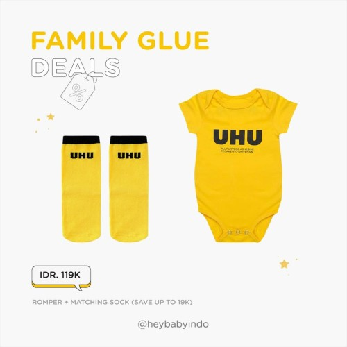 Foto Produk Hey Baby Family Glue Deals - 12-18m dari Hey! Baby