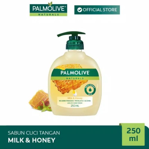 Foto Produk Palmolive Hand Wash Sabun Cuci Tangan Milk Honey 250ml dari Alien_store11