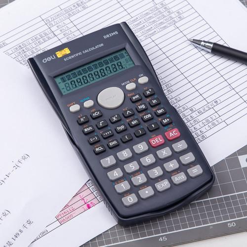 Foto Produk Deli ED82MS Scientific Calculator 240F 10 2 Digits - Hitam dari Deli Stationery