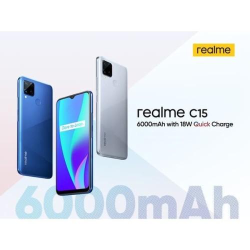 Foto Produk Realme C15 4/64 GB Garansi Resmi dari Nic-cell