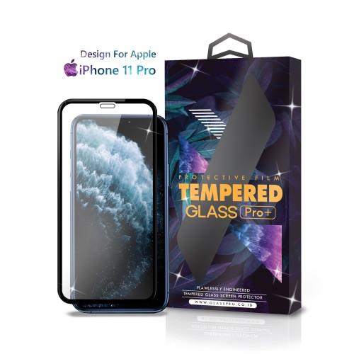 Foto Produk Tempered Glass iPhone 11 Pro Full Cover Black - Premium Glass Pro dari Glass Pro Indonesia