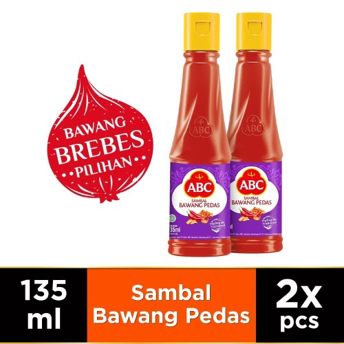 Foto Produk ABC Sambal Bawang Pedas 135 ml - Twin Pack dari HEINZ ABC Official Store