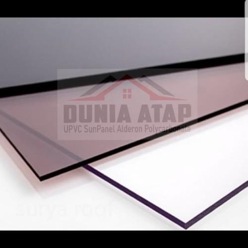 Foto Produk Atap Polycarbonate Solid SOLARFLAT 1.2mm - Abu-abu dari Dunia Atap