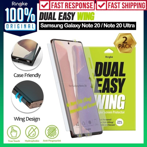 Foto Produk Screen Protector Samsung Galaxy Note 20 / Ultra Ringke Dual Easy - Note 20 Ultra, Wing dari Unicase Store