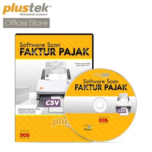 Foto Produk Plustek Sofware Scanner Faktur Pajak dari Plustek Indonesia