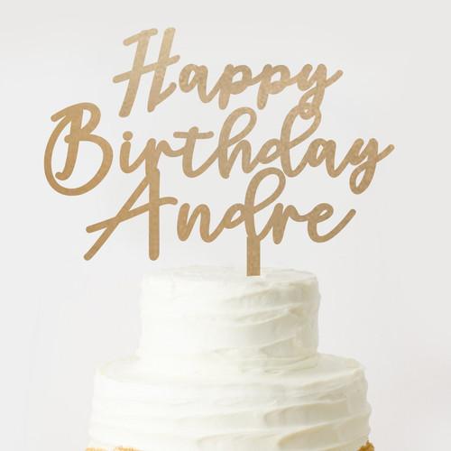 Foto Produk Custom Topper Happy Birthday / Topper Ulang Tahun Murah Topper Akrilik - 10 dari Oh My Sign