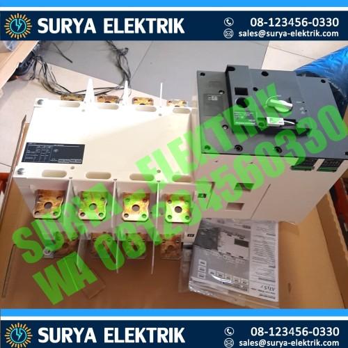 Foto Produk COS Socomec ATYS R Motorised 800A 4P Auto Change Over Switch Otomatis dari SURYA-ELEKTRIK