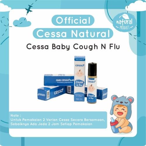 Foto Produk Cessa Cough n Flu Pereda Batuk Dan Pilek Bayi - Essential Esensial Oil dari Cessa Official Jakarta