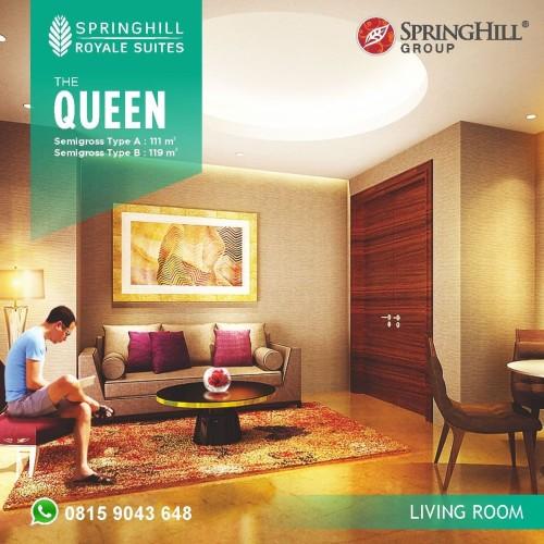Foto Produk Apartemen Mewah di Kemayoran - Springhill Royale Suites Tipe Queen dari SPRINGHILL ROYALE SUITES