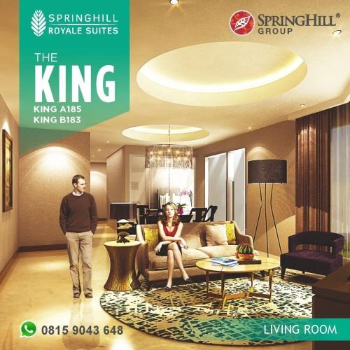 Foto Produk Apartemen Mewah di Kemayoran - Springhill Royale Suites Tipe King dari SPRINGHILL ROYALE SUITES
