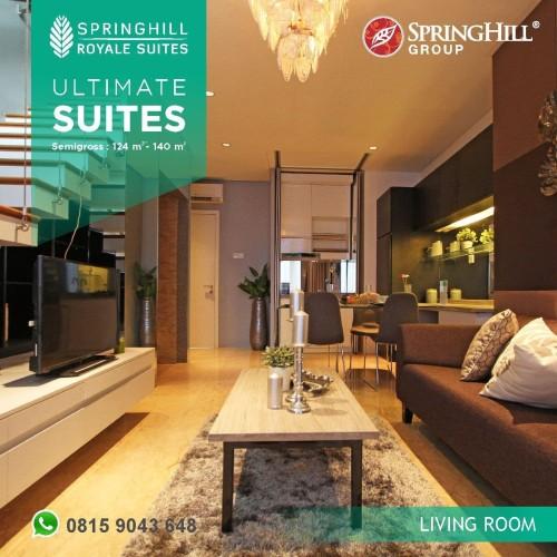 Foto Produk Apartemen Mewah di Kemayoran - Springhill Royale Suites Tipe Ultimate dari SPRINGHILL ROYALE SUITES