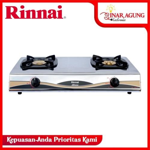 Foto Produk Rinnai RI-522A Kompor Gas [ 2 Tungku ] GARANSI RESMI dari sinar agung electronic