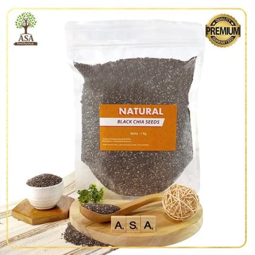 Foto Produk Black Chia Seeds 1 Kg dari ASA natural & healthy