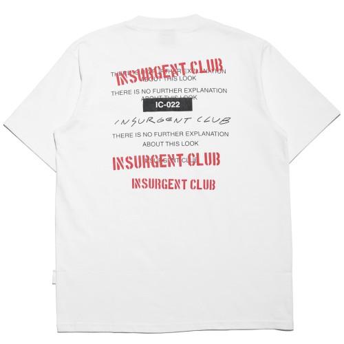 Foto Produk T-Shirt Ic 022 White   Insurgent Club - L dari Insurgent Club